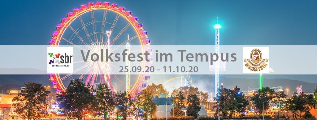 Volksfest im Tempus